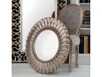 Brand new round wall mirror