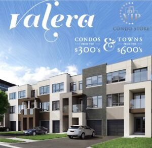 REGISTER NOW FOR NEW VALERA CONDOS & TOWNS IN BURLINGTON!