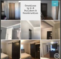A-Z Builders & Construction complete home renovations