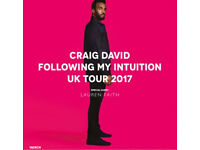 Craig David Tickets- barclaycard arena 7:30pm £150 2 tickets