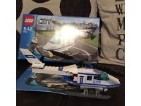 Lego City police helicopter and instructions 7741
