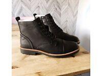 Pull&Bear men's black boots