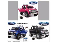 Licensed Ford Ranger ride on car with remote control music and lights (leeds) only £230