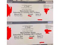 J Cole Manchester Arena Tickets. Saturday 21st October 2017