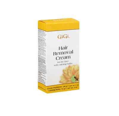 GiGi Hair Removal Cream for The Face, 1 oz - Calming Balm .5 oz ()
