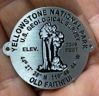 Hiking Staff Medallion Stocknagel-Badlands National Park BD-3