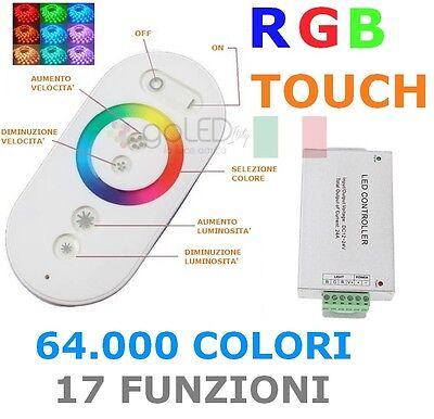 Sienoc Mini Telecomando regolatore RGB Luce LED Controller 12v con 24 tasti