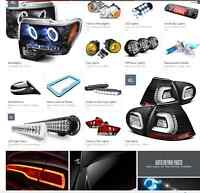LED lights/Fog lights/HID Head-lights Installation $40-$80