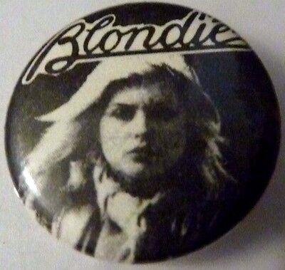 """BLONDIE"""" Vintage"""" 1970's -1980's Button/Badge 1"""""""