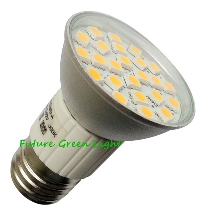 B22 BC 24 SMD LED 240V 3.8W 350LM WARM WHITE BULB WITH COVER ~50W