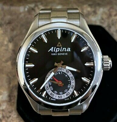*Alpina Stainless Steel Horological Smart Watch (AL285X5AQ6) Free Shipping