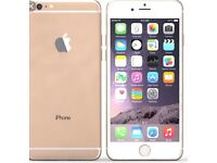 Gold Apple I phone 6 perfect condition