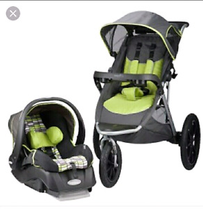 New Evenflo victory travel system
