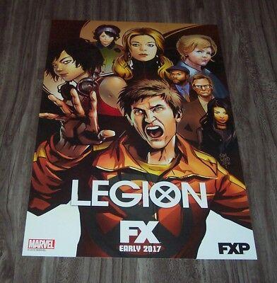 Marvel Comics LEGION FX NEW YORK COMIC CON EXCLUSIVE PROMO POSTER SAM WOOD NEW