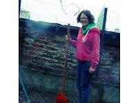 Gardening...getting ready for Christmas