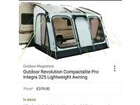 Caravan Awning compactalite pro 325