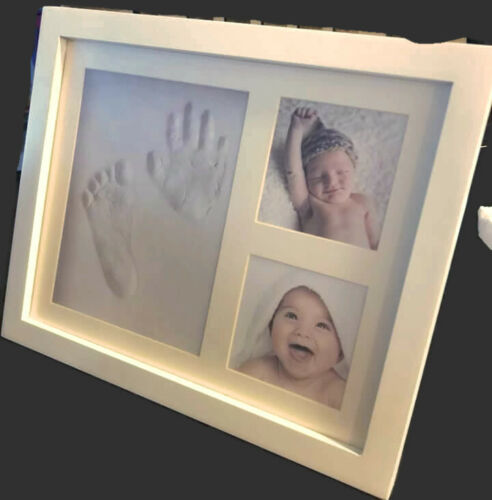 Baby Footprint & Hand Frame Kit for Girls, Boys or Pets.. New
