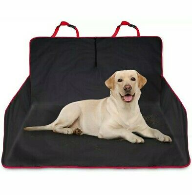 Heavy Duty Universal Waterproof 2 in 1 Boot Liner Rear Car Back Seat Pet Dog