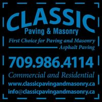 Classic paving and masonry (free estimates)