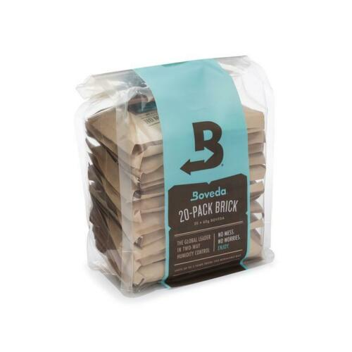 Boveda 69% RH 2-Way Humidity Control | Size 60 for Every 25 Cigars | 20-Count