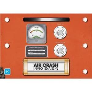 AIR CRASH INVESTIGATIONS : SEASON 1-17  BOX SET  - DVD - UK Compatible