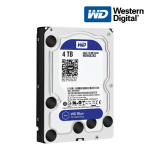 "Western Digital 4TB Blue SATA 3.5"" Hard Disk Drive [HDD]"