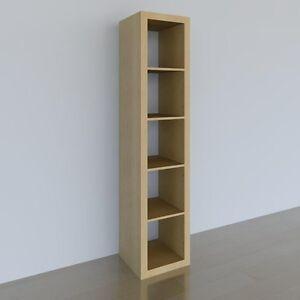 Étagères bibliothèques bookshelf Expedit Kallax Ikea 5x1