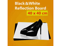 Brand New Professional Photographic Reflection Board, Acrylic Reflective Background, Black Or White