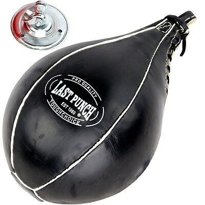BOXING SPEEDBALL MMA PUNCHING BAG w/ SWIVEL Speed Ball Training Dodge Workout