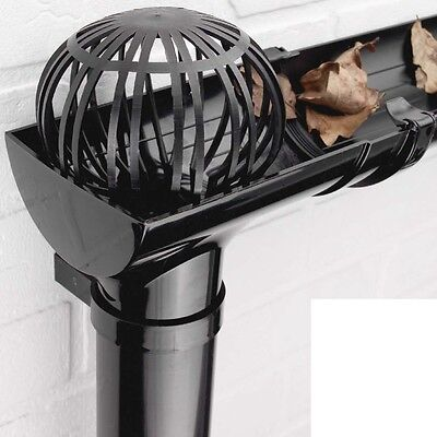 Gutter Balloon Guard Downpipe Filter Blockage Debris Down Pipe Leaves Cover Moss