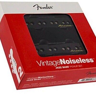 NEW SET FENDER JAZZ BASS 0992102000 NOISELESS vintage pour J-bass