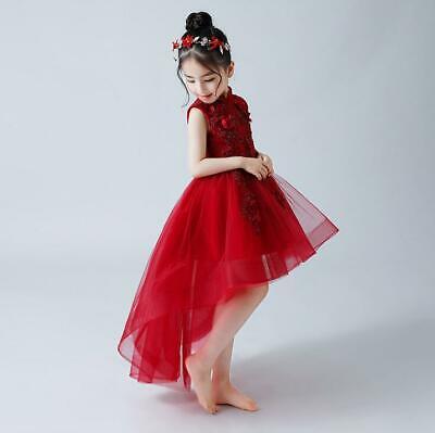 Princess Toddler Kids Dress Unique Tail Vest Style Girls Costume Bubble Vestidos (Unique Toddler Costumes)