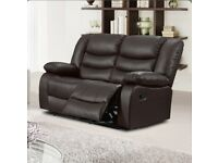 Trista 2 Seater Reclining Sofa selling at £225