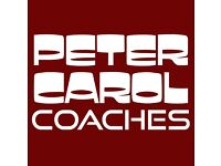 Coach Driver Positions - Full or Part Time