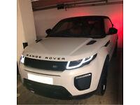 Hire / Rent Range Rover Evoque Convertible 2017 plate. - Automatic