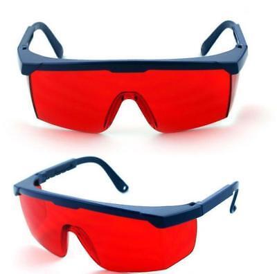 2x Laser Safety Goggles Glasses 190nm-540nmgreenpurpleblue For Laser Pen