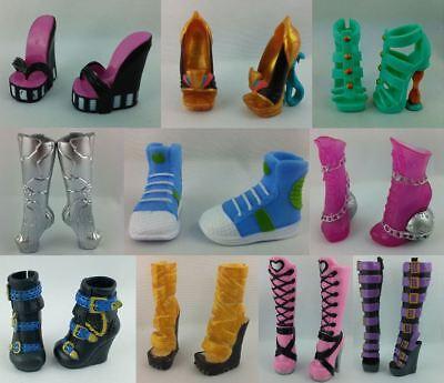 Monster High Schuhe Shop - Basic Shoes High Heels Boots Stiefel - Catty Venus