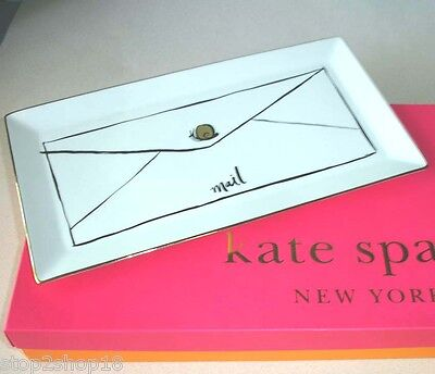 Kate Spade DAISY PLACE Snail Mail Large Letter Tray 11x5