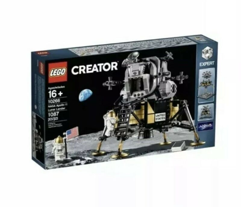 LEGO 10266 NASA Apollo 11 Lunar Lander Brand New Set, Sealed!