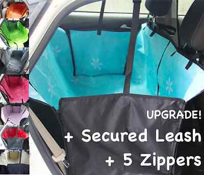 DOUBLE Layers Waterproof Pet Car Seat Cover Dog Hammock Protector Back Mat 1.2kg