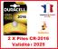 Lot-de-1-a-10-Pile-CR-2016-DL-2016-DURACELL-bouton-Lithium-3V-DLC-2025
