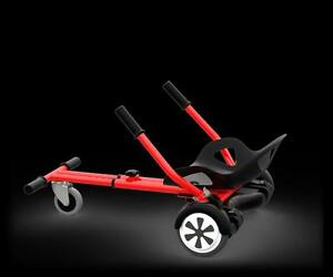 hoverboard cart Go cart hovercart HOVERSEAT - SITTING ATTACHMENT FOR HOVERBOARD. HOVERBOARD KART hover buggy, hoverkart