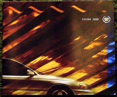 Original 2000 Cadillac Catera Sales Brochure 00 segunda mano  Embacar hacia Mexico