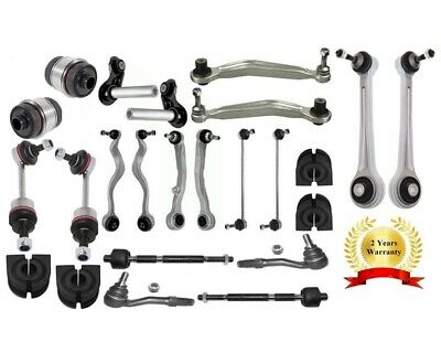 BMW 5 Series E61 SUSPENSION ARM + TIE + TRACK ROD END + LINK & ANTI-ROLL BUSHES