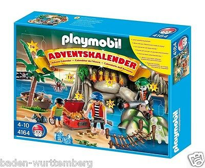 Playmobil 4164 christmas time pirates advent calendar mint in Box collectors NEW