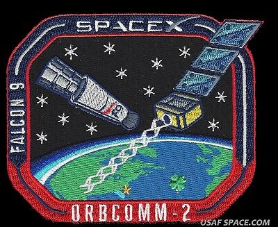 Spacex Orbcomm Og 2 Mission  Falcon 9   Rtf  Launch   Landing Original Patch