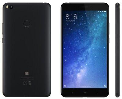 Xiaomi Mi Max 2 64Gb Black  Factory Unlocked  6 44  4Gb Ram 12Mp Dual Sim