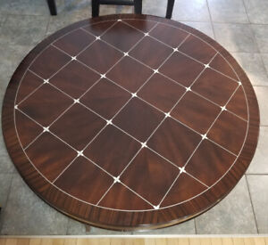 Beautiful Round Coffee Table Solid Wood 46""