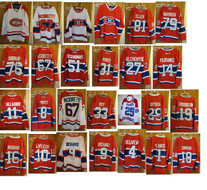 NHL JERSEY MONTREAL CANADIENS CHANDAIL DE HOCKEY LHN NEUF