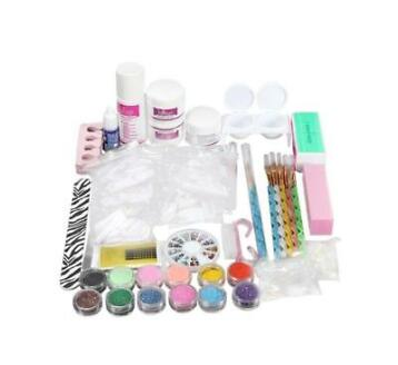 Gelnagels acryl nagel styling set nailart gel startpakket *D